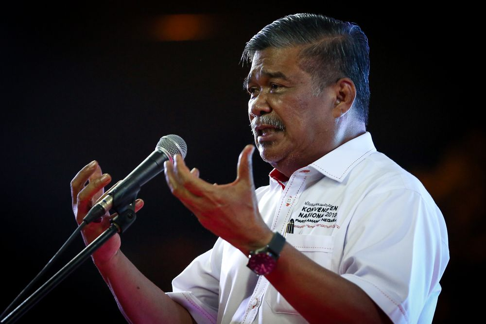 In his speech debating Budget 2021, Kota Raja MP Mohamad Sabu pointed to the current chaos in Thailand, which has seen thousands of youths taking to the streets to denounce King Maha Vajiralongkorn. — Picture by Yusof Mat Isa