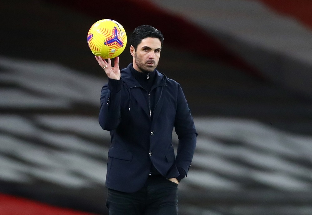 Arsenal manager Mikel Arteta during the match against Southampton at Emirates Stadium in London December 16, 2020. — Reuters pic
