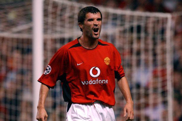 Roy Keane won seven Premier League titles with Manchester United