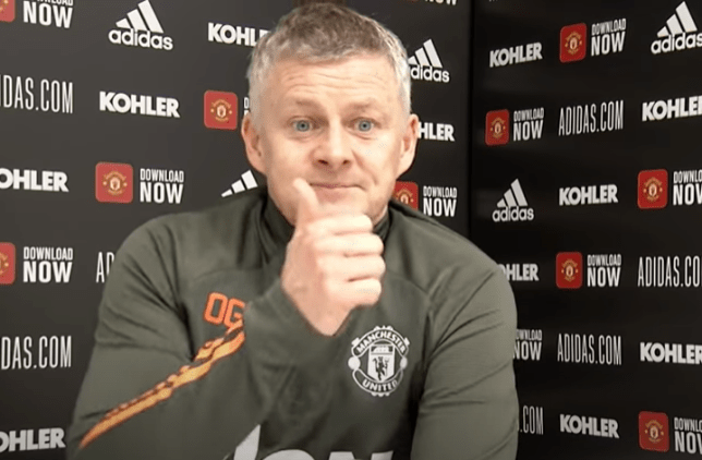 Ole Gunnar Solskjaer's side have moved to within  three points of the Premier League summit