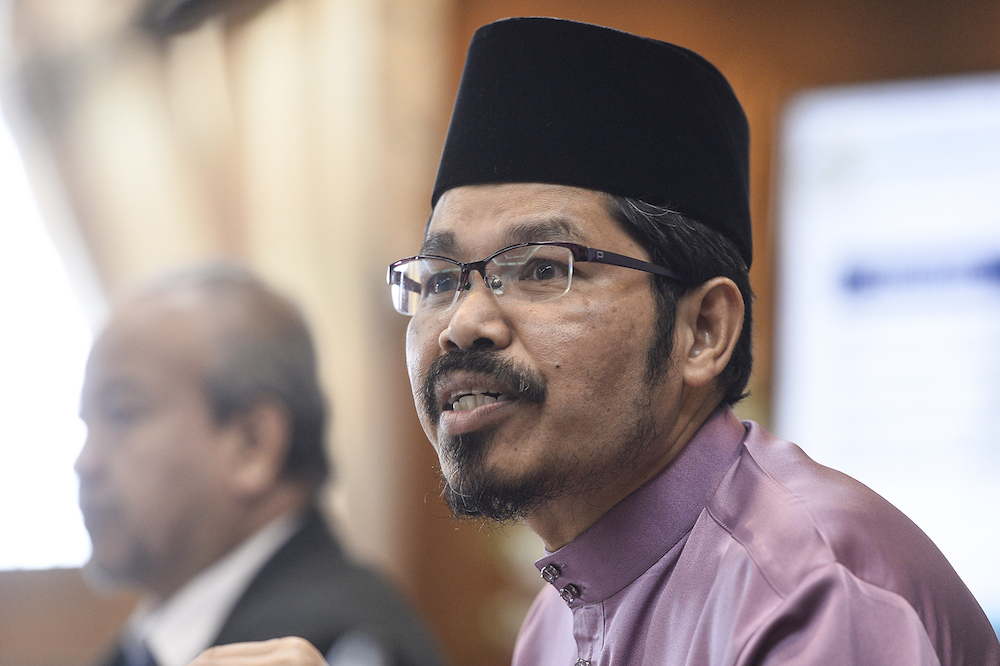 Chief statistician Datuk Seri Mohd Uzir Mahidin said this was a positive increase for two consecutive months since February 2021. — Picture by Miera Zulyana