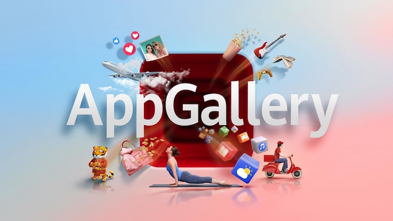 Huawei's AppGallery offers over 100,000 applications available for download. — Picture courtesy of Huawei