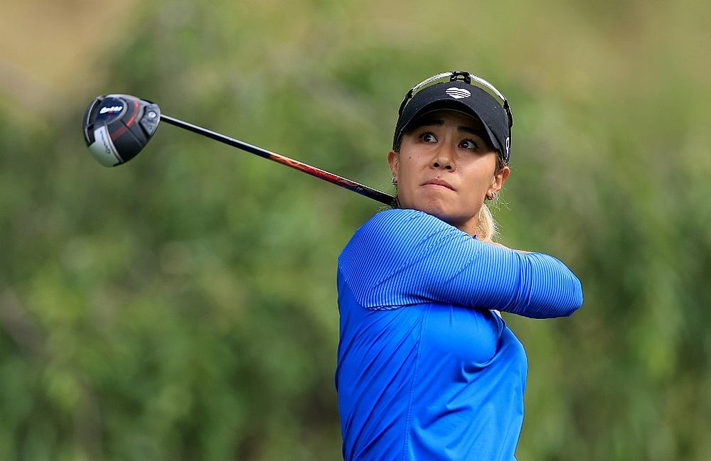 Danielle Kang holds on to a two-shot lead in the third round of the LPGA Tournament of Champions . — Getty Images/AFP pic