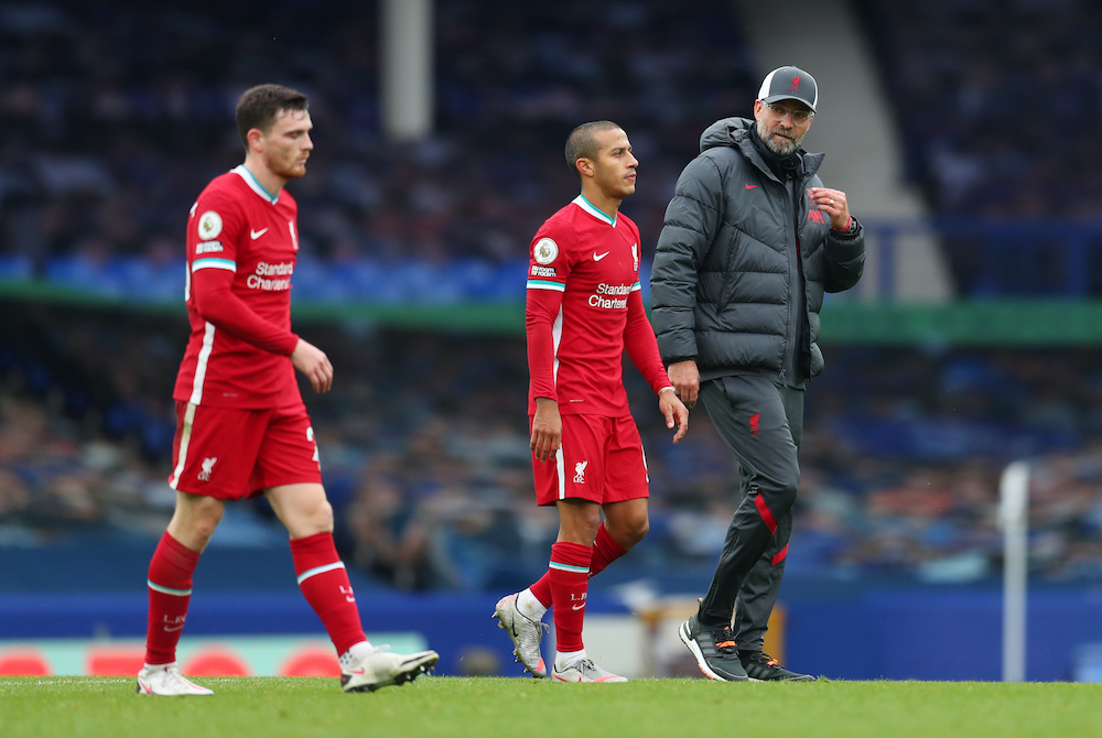 Liverpool have gone five league games without a win and Thursday's 1-0 defeat by Burnley was their first loss at Anfield in nearly four years. — Reuters pic