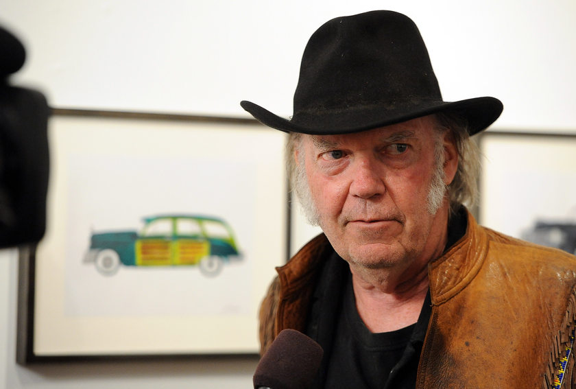 Musician Neil Young's deal comes just a month after Bob Dylan sold his entire back catalogue to Universal Music Publishing Group for a lofty sum reportedly in the realm of US$300 million to US$500 million. — AFP pic