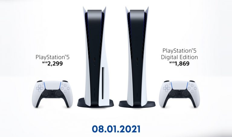 Sony Malaysia has announced that its second batch of PS5 units will be available for pre-order starting today (January 8, 2021). ― Picture via SoyaCincau