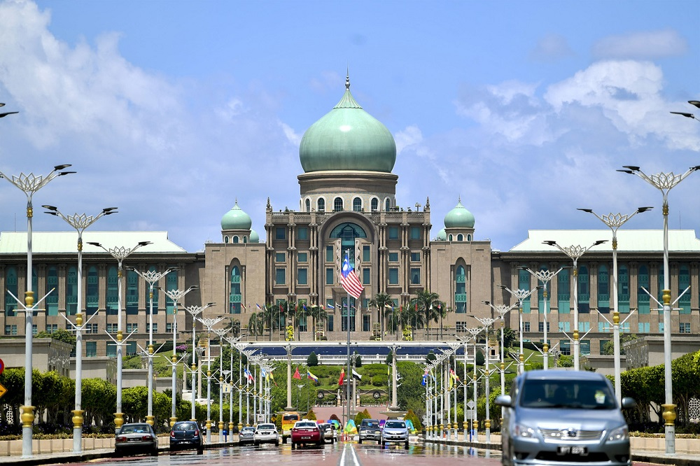 A general view of the Perdana Putra building which houses the Prime Minister's Office in Putrajaya February 25, 2020. — Bernama pic