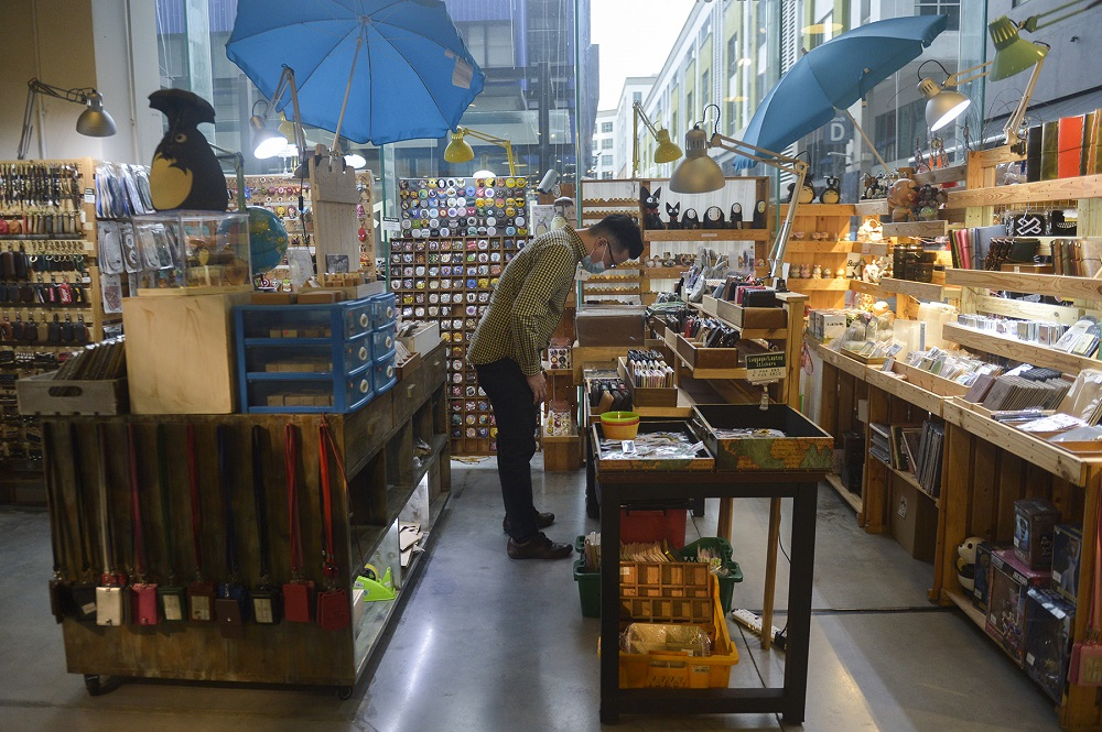 View of Pop The Arcade in Jaya One, Petaling Jaya.