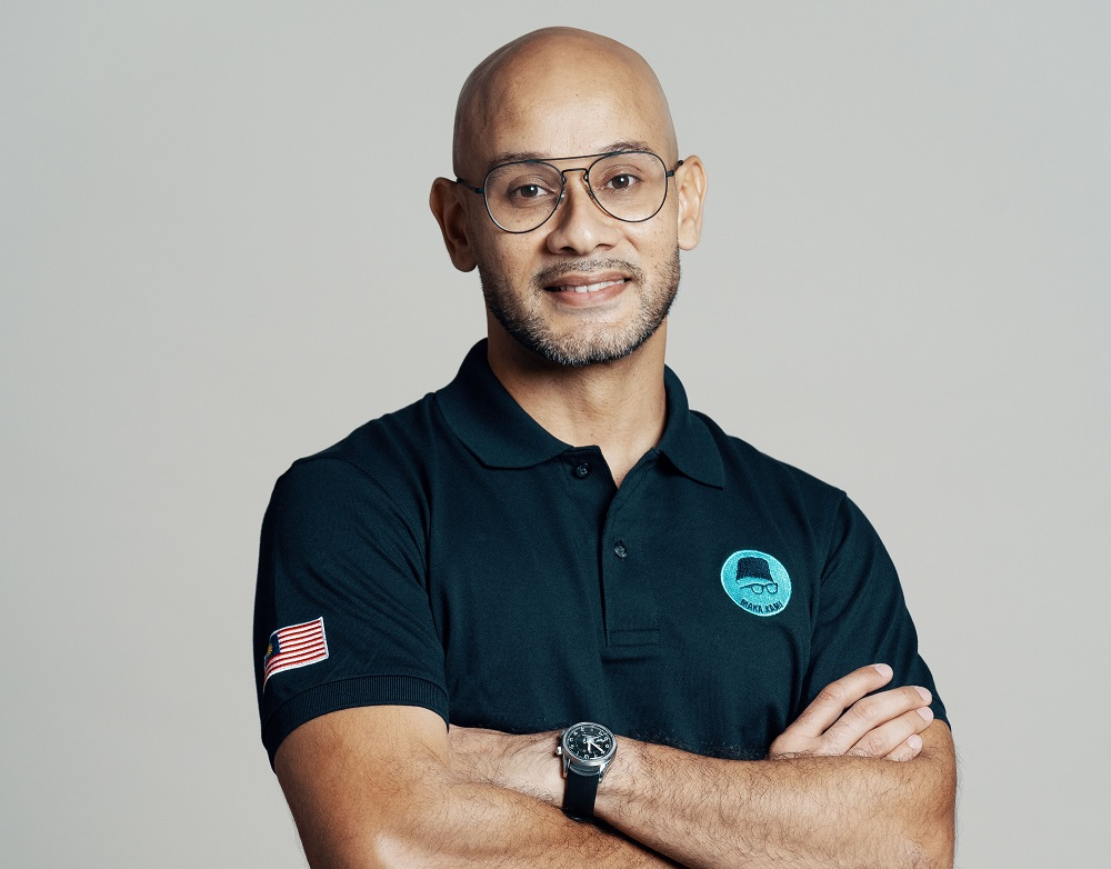 Syed Sadiq Albar is the co-founder of Projek57 social enterprise and advocates national unity. ― Picture courtesy of Projek57