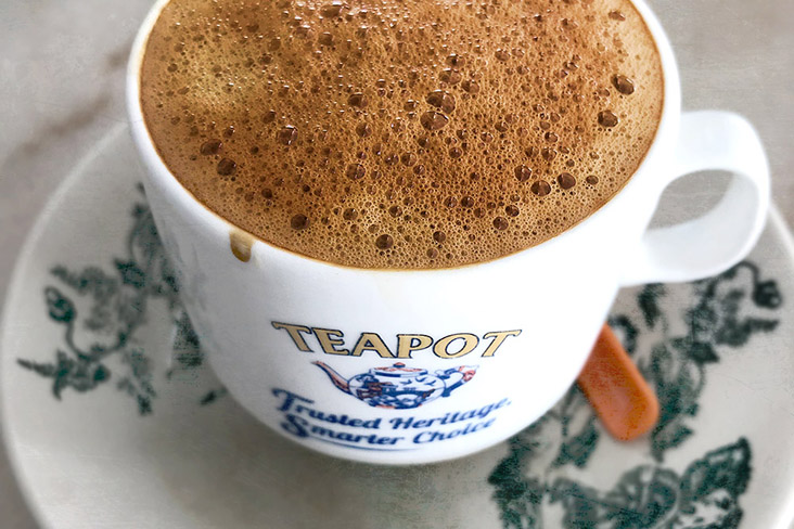 Ipoh is famous for its rich and creamy white coffee.