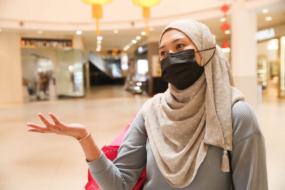 Nurul Syazana believes the vaccine's arrival could mean the end of the pandemic. — Picture by Choo Choy May