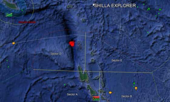 The two ships were intercepted near Hiu island in Vanuatu's northern waters