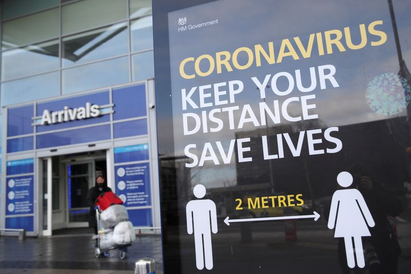 English health authority says 38 cases of new COVID variant found