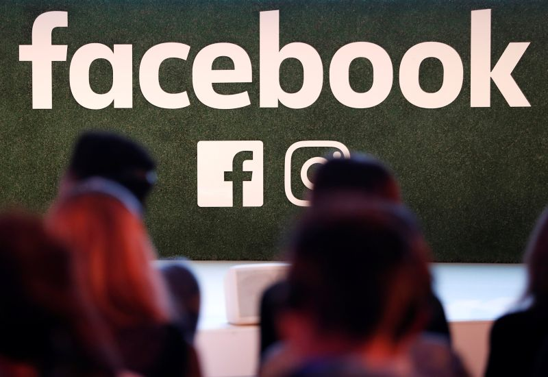 A Facebook logo is seen at the Facebook Gather conference in Brussels January 23, 2018. ― Reuters pic