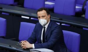 Jens Spahn in the Bundestag