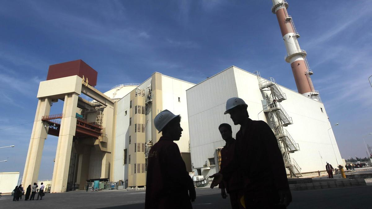 The reactor building Bushehr nuclear power plant in southern Iran in October 2010. (AFP)