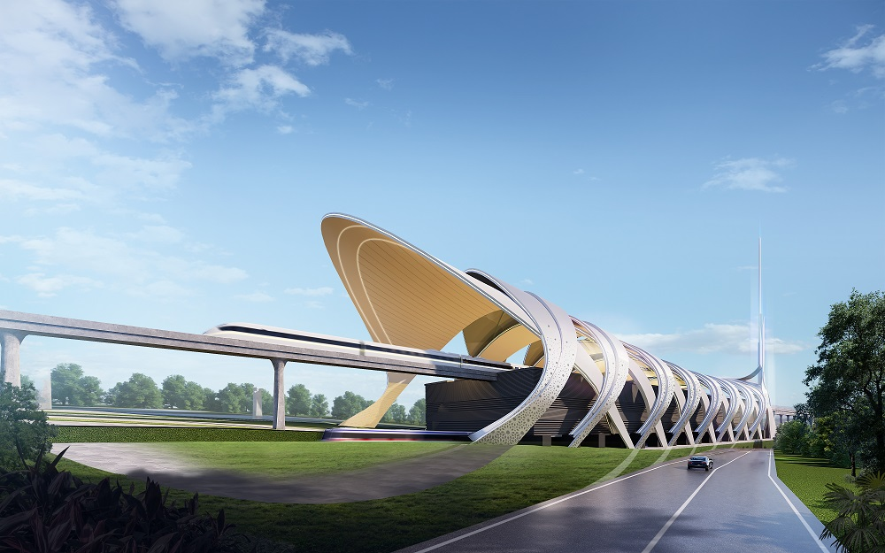 The design stood out thanks to its strong symbolism and environmentally friendly concept. — Picture courtesy of Mass Rapid Transit Corporation Sdn Bhd