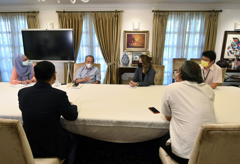 Prime Minister Tan Sri Muhyiddin Yassin said Malaysia was in a position to offer 'special' incentives. — Bernama pic
