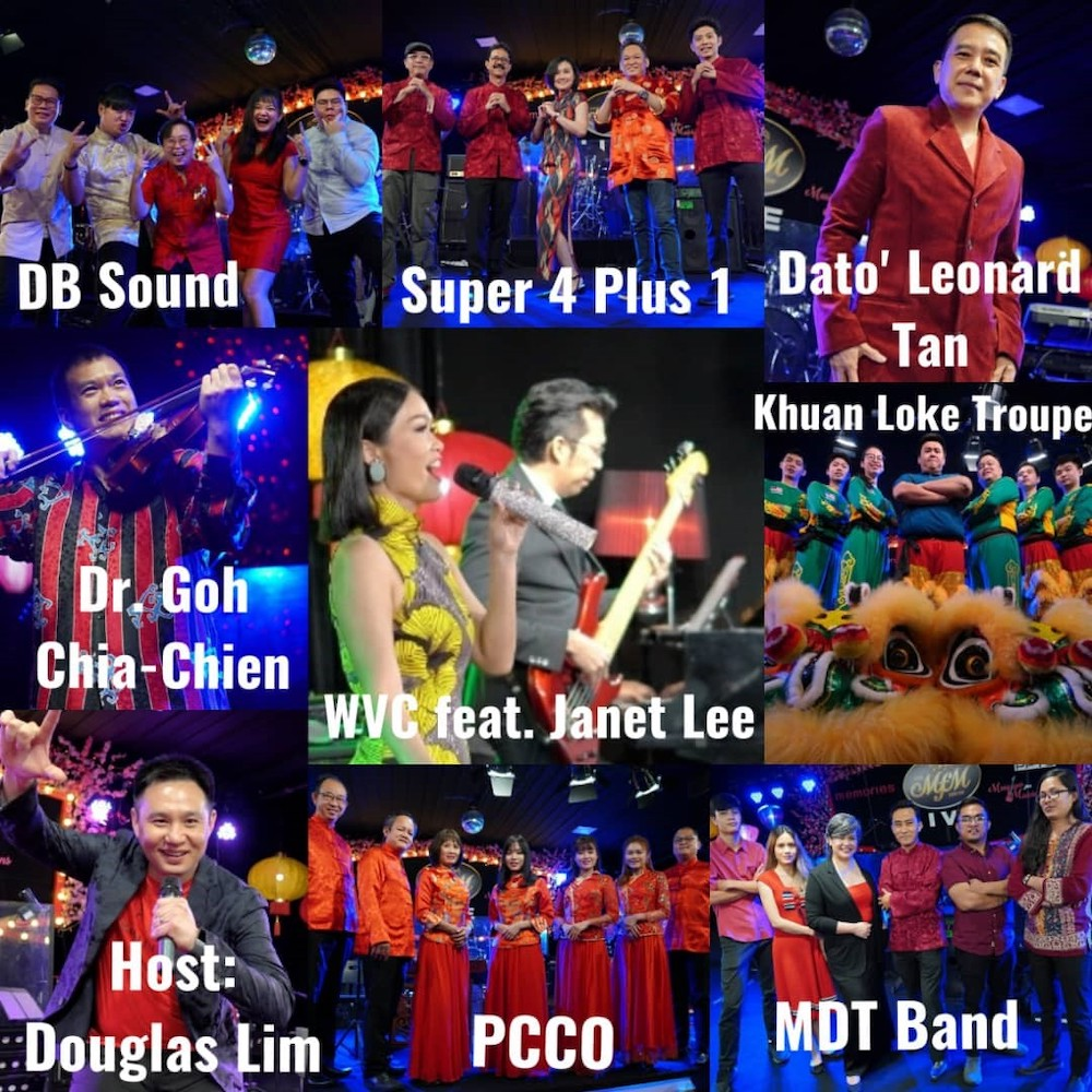 A variety of performances by local artists for you to watch on Chap Goh Meh this year. — Picture courtesy of PPTS
