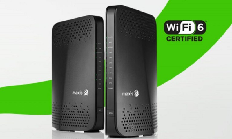Maxis has introduced new mesh-ready WiFi 6 routers as part of its home broadband bundles. — Picture courtesy of Maxis via SoyaCincau