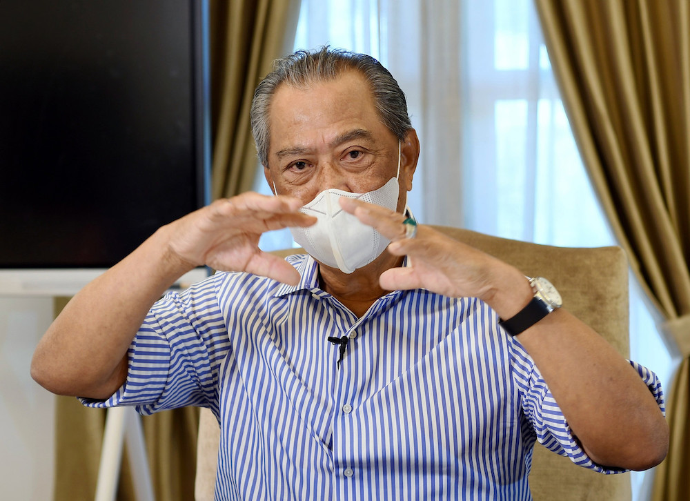 Prime Minister Tan Sri Muhyiddin Yassin said the East Malaysian states must be 'given fair treatment'. — Bernama pic
