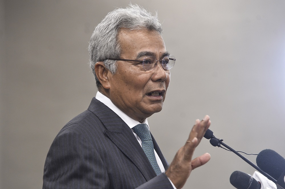Datuk Seri Mohd Redzuan Md Yusof said selected individuals include those who deal frequently with the public directly, and risk being exposed to the virus. ― Picture by Miera Zulyana