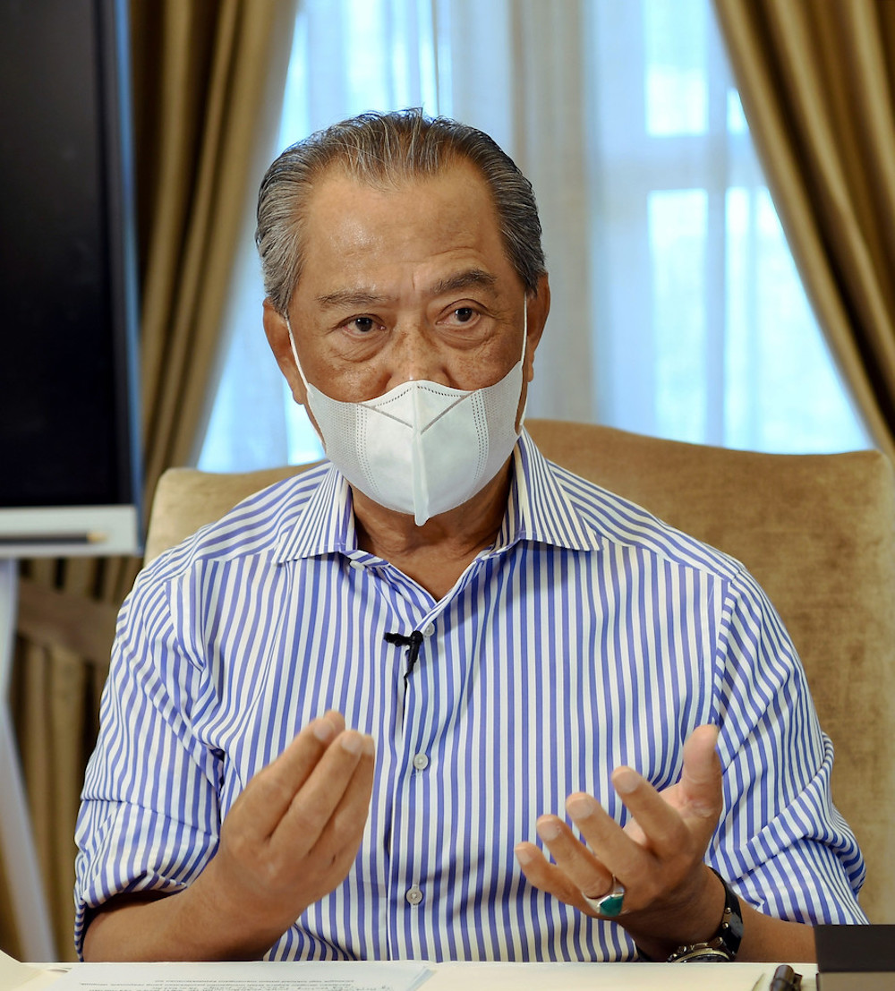 Prime Minister Tan Sri Muhyiddin Yassin said bilateral relations remained crucial even during a pandemic. — Bernama pic