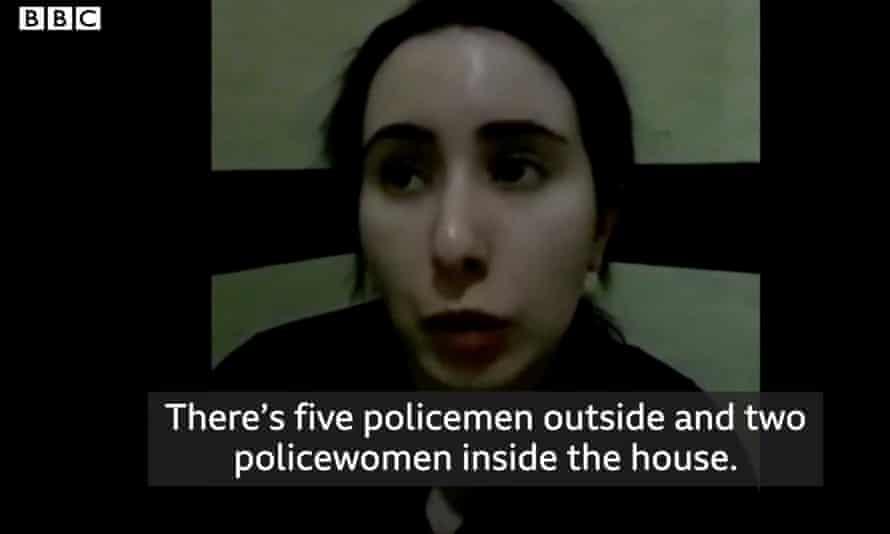 Videos show Dubai's Princess Latifa imprisoned against her will