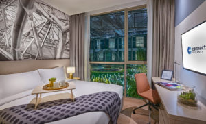 The premier king suite. Photo: Connect@Changi