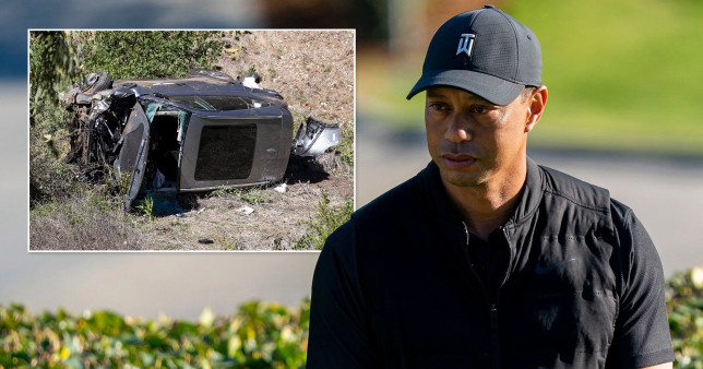 Tiger Woods underwent surgery last night following a horror car crash