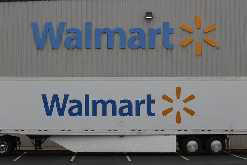 The Wal-Mart company logo is seen outside a Wal-Mart Stores Inc company distribution centre in Bentonville, Arkansas June 6, 2013. — Reuters pic