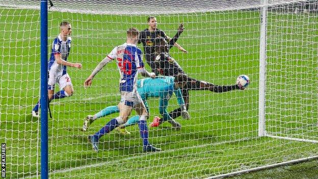 Ismaila Sarr scores for Watford
