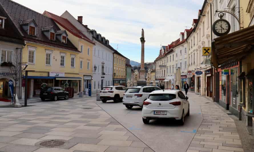 Wolfsberg town centre.