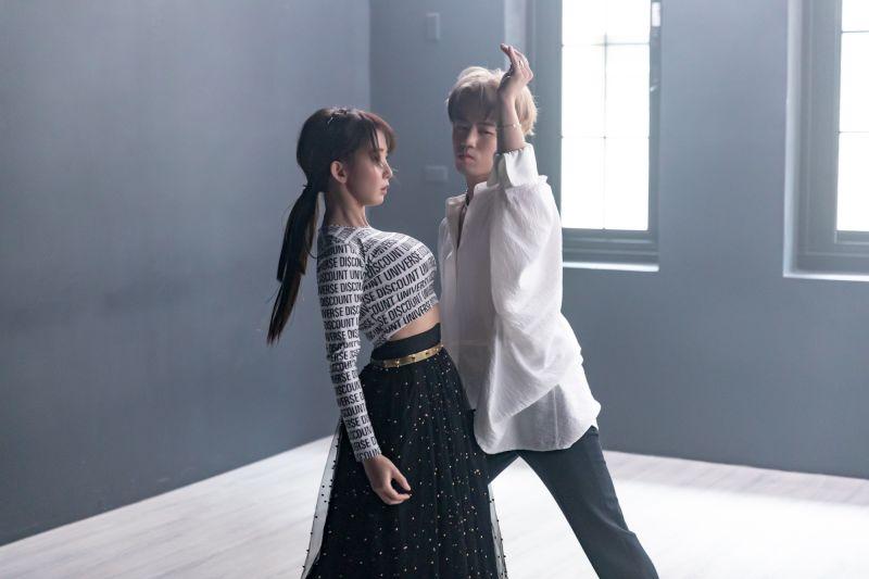 ▲街舞男團B.T.O.D的MV邀來郭書瑤拍攝。(圖/寬寬整合行銷提供)