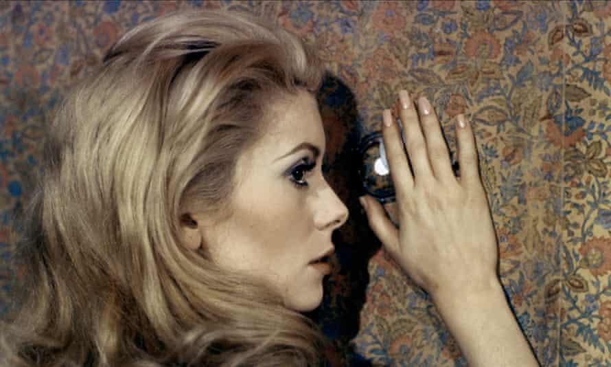 Catherine Deneuve in Belle de Jour, 1967.