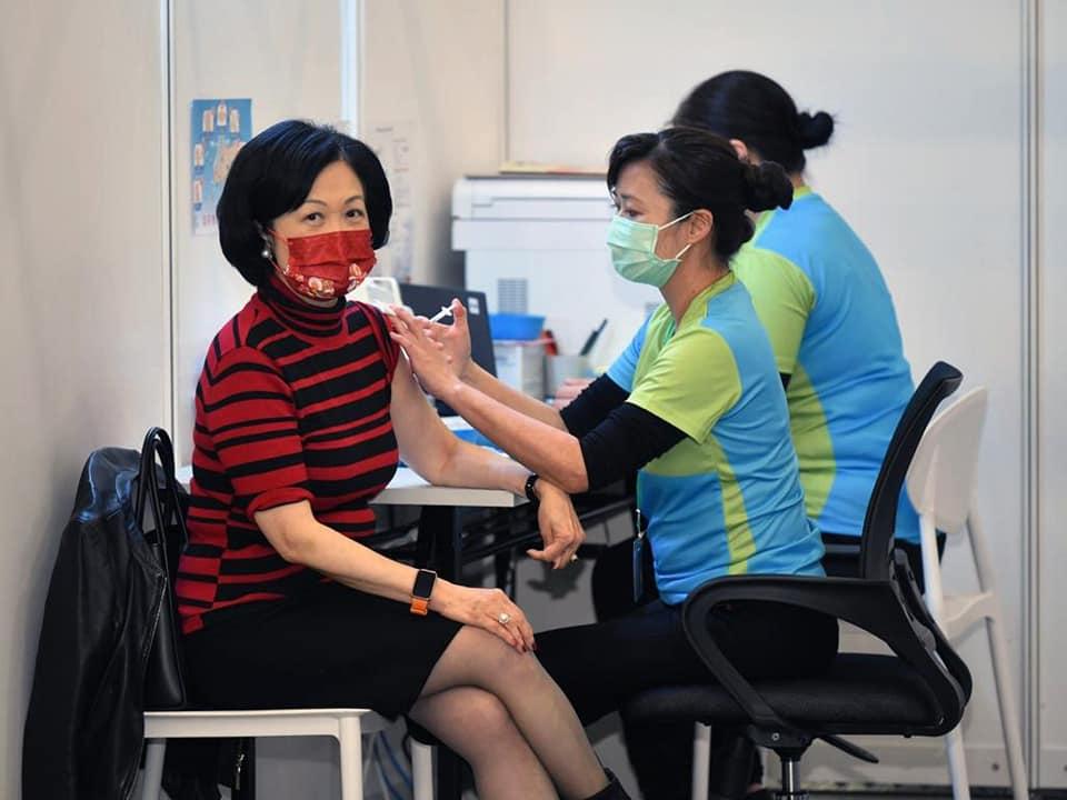Regina Ip Covid-19 vaccine