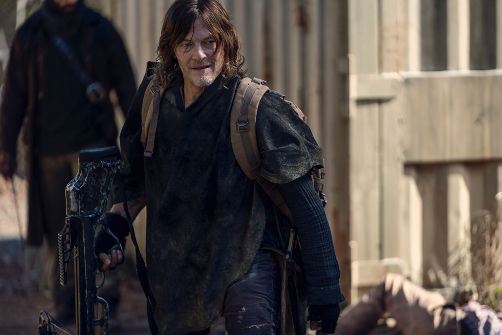 As the show comes up to its last season, Norman Reedus has his fingers crossed for an epic finale. — Picture courtesy of Disney