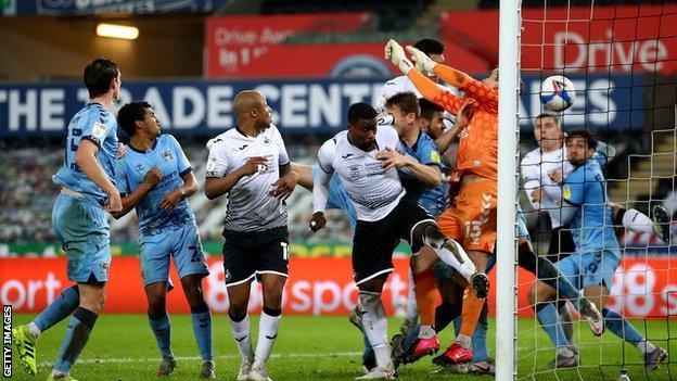 Cabango goal