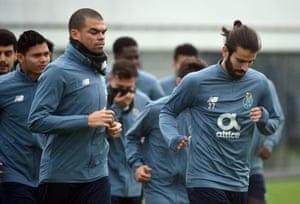 Porto training