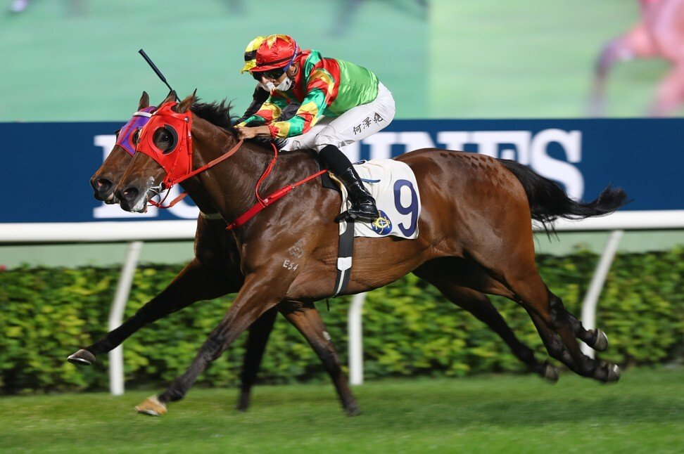 Tourbillon Diamond strides out to win in December under Vincent Ho.