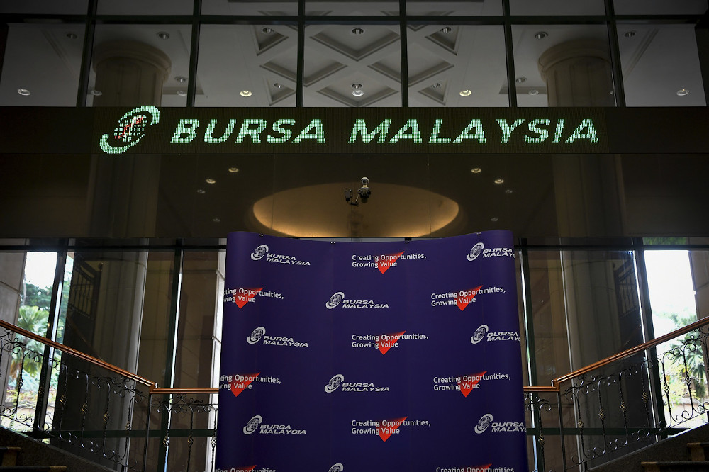 Mah Sing Group Bhd was the most actively traded counter in the local bourse this morning. — Bernama pic