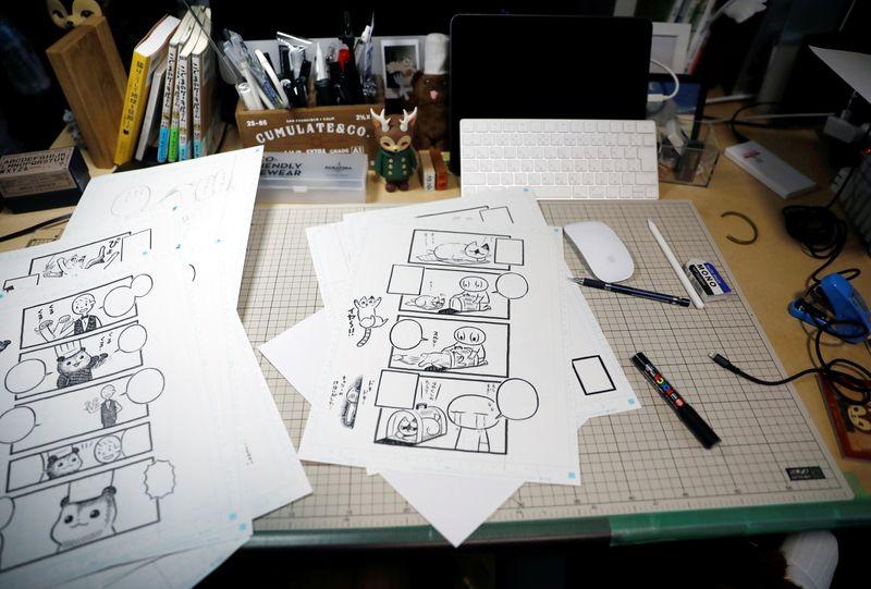 South Korean tech firms shake up Japan's storied manga industry