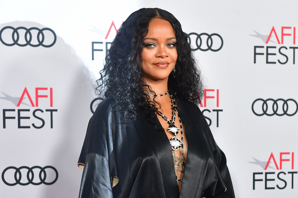 Rihanna derives an estimated US$1.4 billion of her fortune from her 50 per cent stake in the Fenty Beauty cosmetics line. — AFP pic