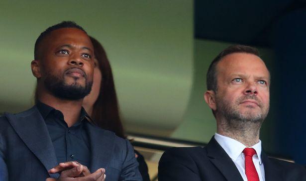 "Patrice Evra felt ""betrayed"" by Ed Woodward when he left Man Utd"