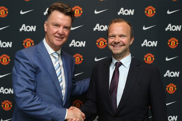 """Louis van Gaal has claimed Ed Woodward """"had his head in a noose"""" for the last six months"""