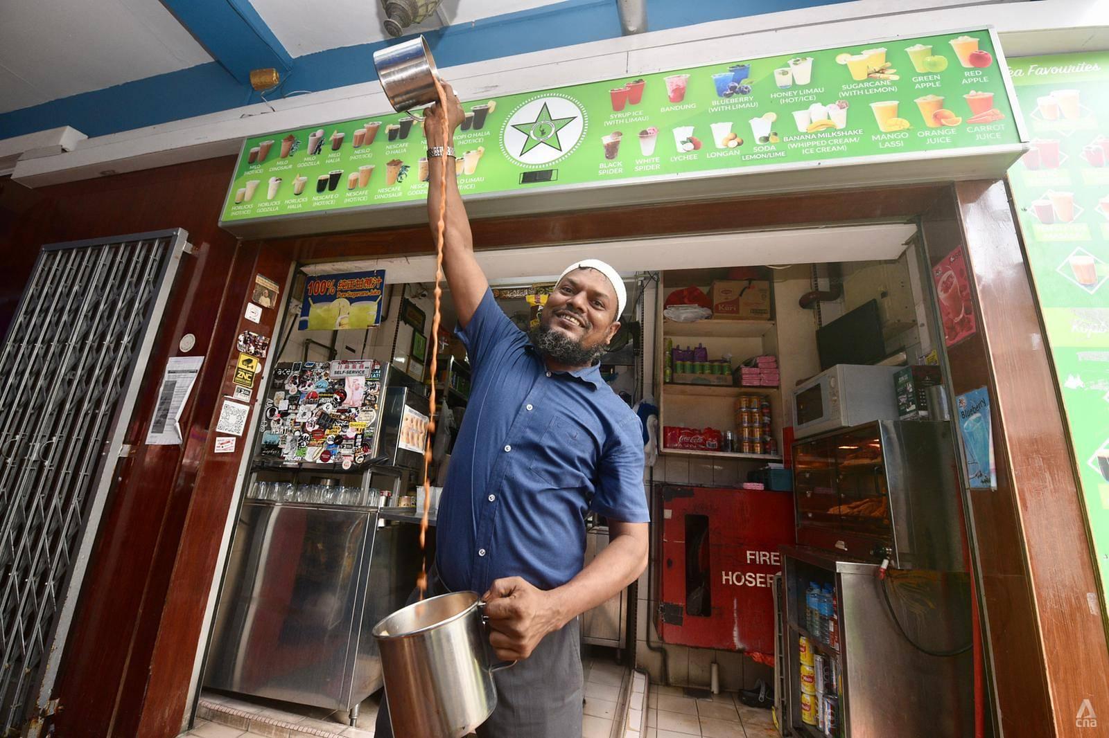 Bhai Sarbat tea shop Kampong Gelam