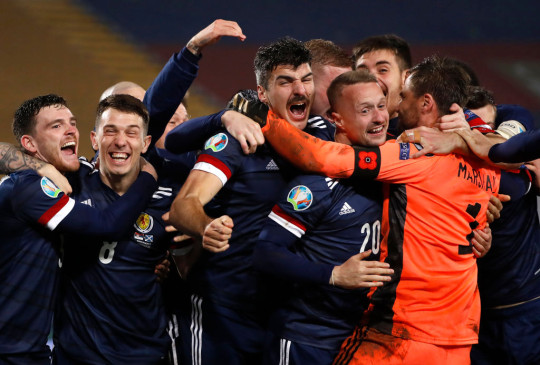 Scotland qualified for Euro 2020 after a dramatic play-off win over Serbia