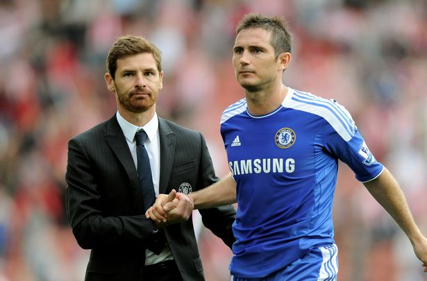 """Andre Villas-Boas was accused of perhaps taking the job """"too early"""""""