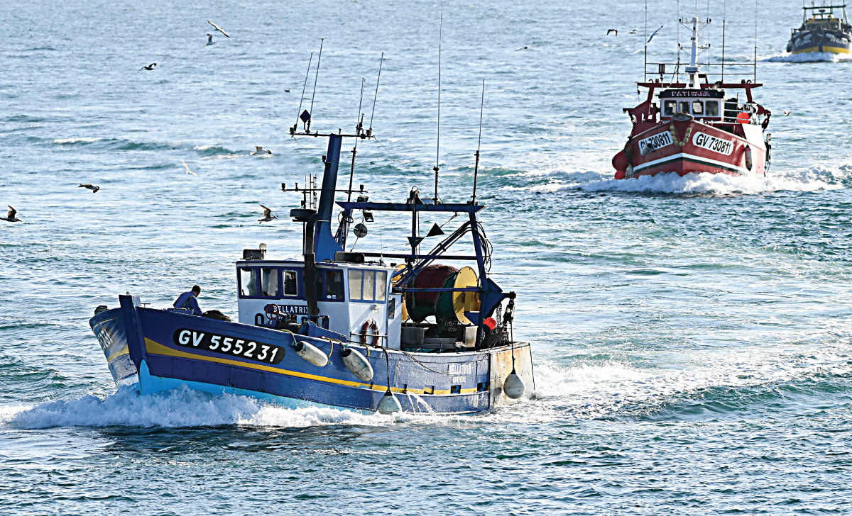 Fishermen in northern France say their livelihoods depend on access to British waters, where they chase mackerel, whiting, squid and other species. (AFP/File)