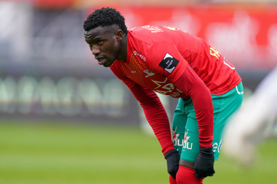Fashion Sakala has scored 13 goals in 28 league games for KV Oostende this season
